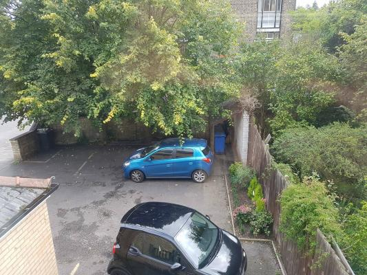 Car parking at A & B Guest House